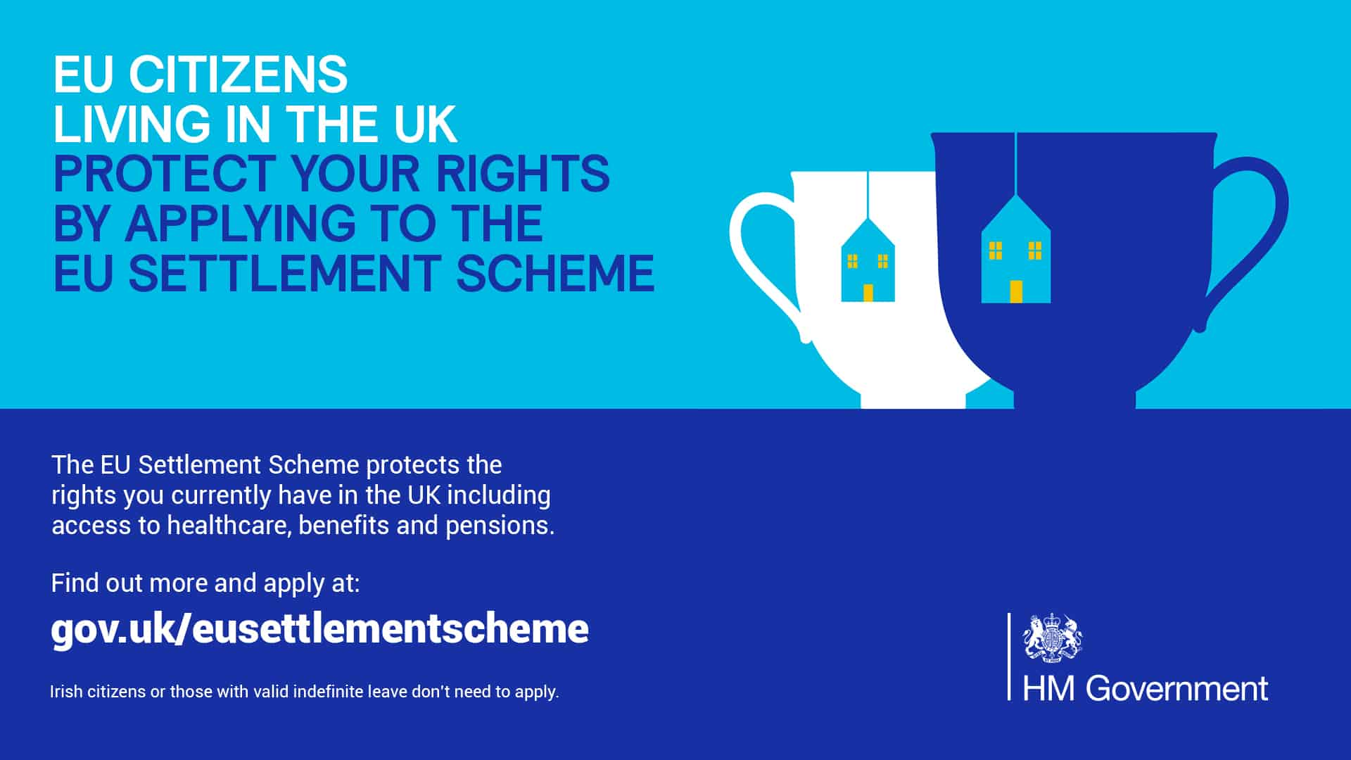 EU citizens living in the UK - protect your rights by applying to the EU settlement scheme