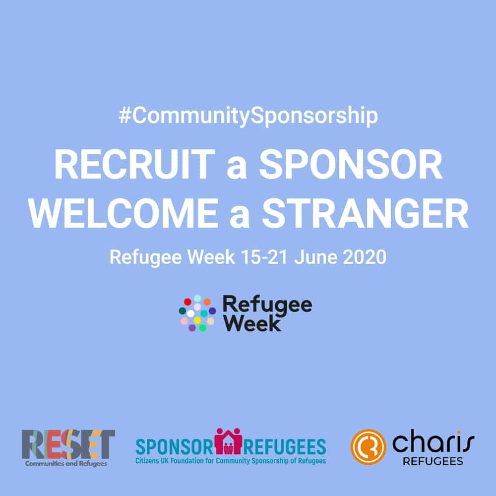 reset sponsor - refugee week 15-21 June 2020