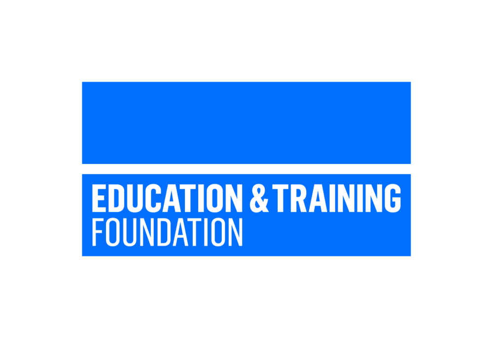 Logo for the Education and Training Foundation