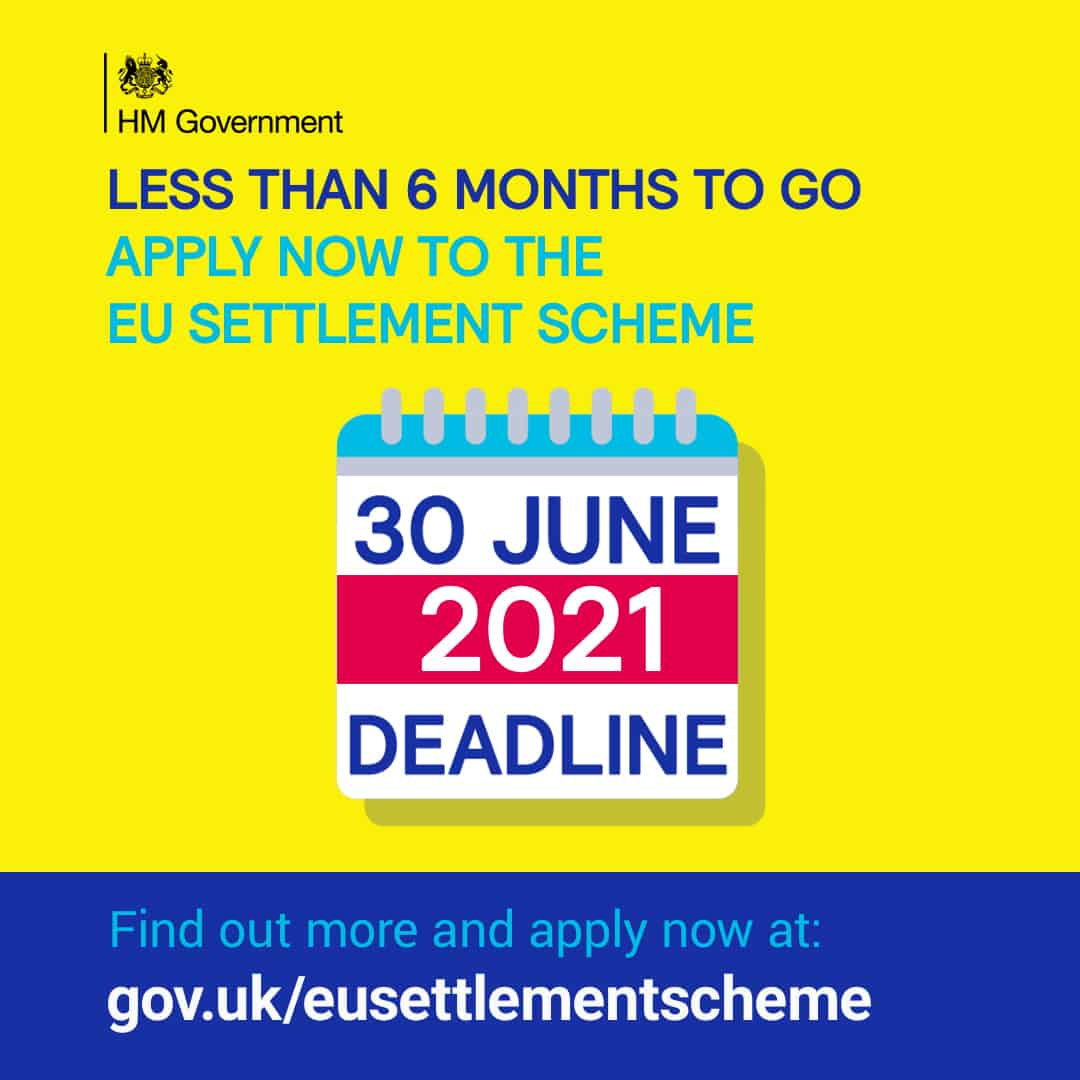 EUSS - Less than 6 months to go, apply now.