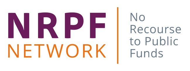 """Logo of the NRPF Network 